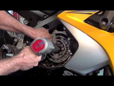 07/08 Gsxr 1K Motorcycle Clutch Replace/Install/Inspection DIY Brocks Clutch Mod