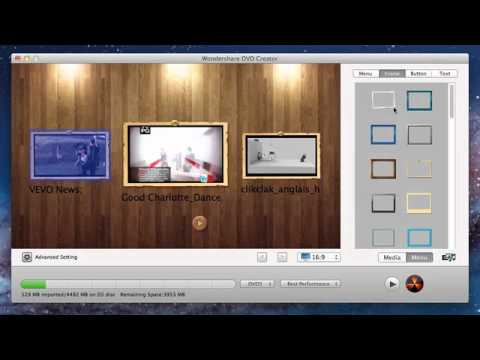 How to Convert MP4 to DVD on Mac OS X