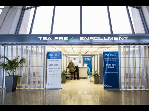 Enroll in TSA Pre✓® for a smarter security checkpoint experience