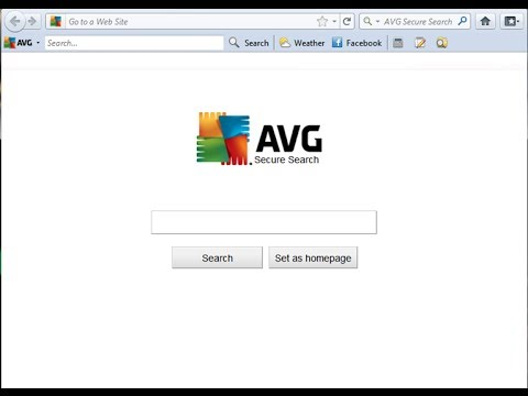 Uninstall AVG® Secure Search from Google™ Chrome in Windows® 8.1