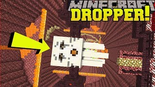 Minecraft: DROPPING ONTO A GIANT GHAST!!! - KING OF THE DROPPER - Custom Map [1]