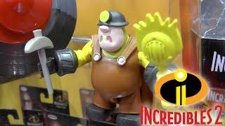 Incredibles 2 Toys - Lightening Jack Jack, Underminer, Elasticycle,  (Disney, Pixar)