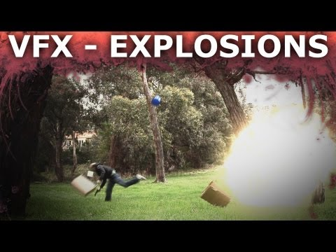 Adobe After Effects Explosion Visual Effects 101 - How To Blow Stuff Up