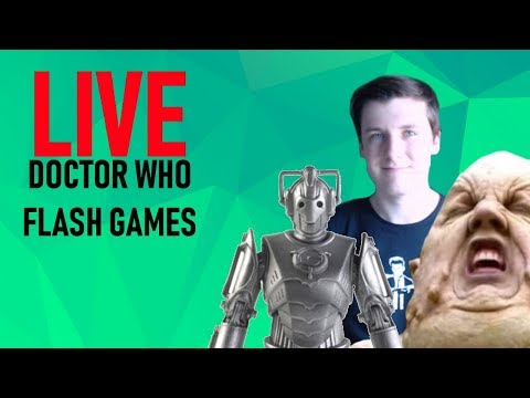 Doctor Who Flash Games/ Q&A LIVE