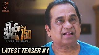Khaidi No 150 Latest Teaser #1 || Mega Star Chiranjeevi || V V Vinayak || DSP