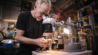 Adam Savage's One Day Builds: Fiber Optic Microscope Ring Light!