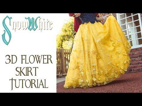 Snow White Costume Tutorial - Skirt