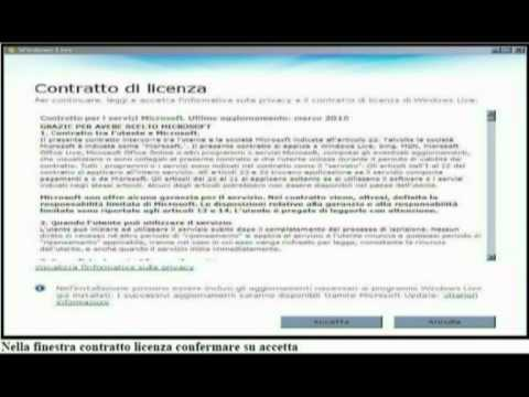 scaricare installare Windows Live Mail 2009