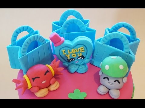 Shopkins Cake Mandy Candy Cake Topper How To