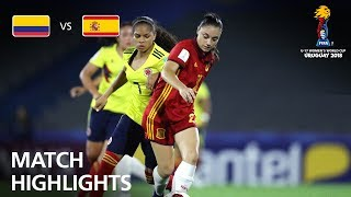 Colombia v Spain  - FIFA U-17 Women's World Cup 2018™ - Group D