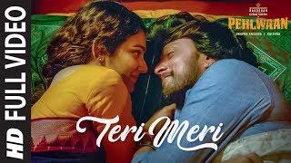 Full Video: Teri Meri | PEHLWAAN | Kichcha Sudeepa | Krishna | Arjun Janya