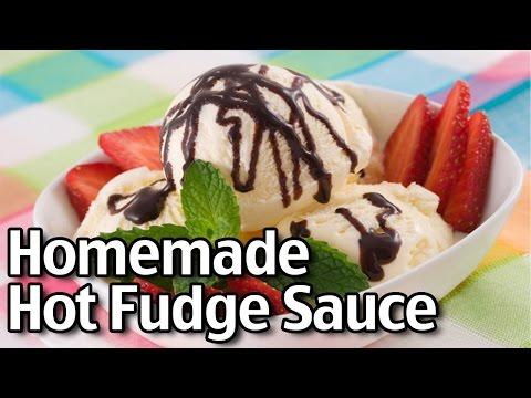 Homemade Hot Fudge Sauce and Chocolate Sauce