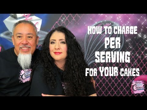 CHARGING FOR CAKES! How To Price Per Serving! Cake Biz Video Series