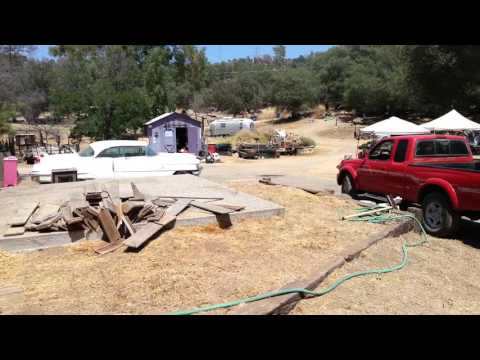 Yard Clean-up Progress
