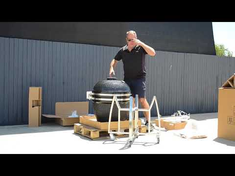 How to Build a BBQ Grill Kamado