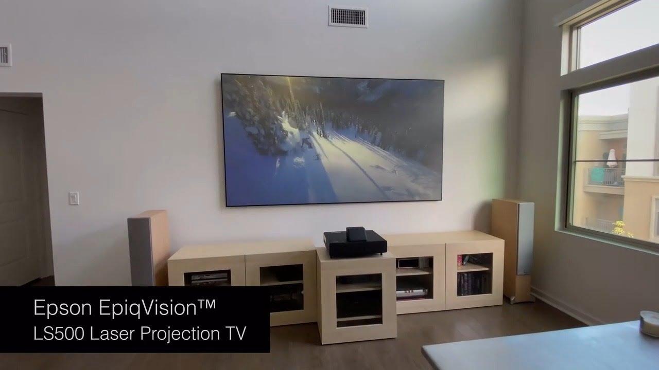 Download Epson EpiqVision™ Ultra LS500 Laser Projection TV | Installation Guide MP3 Gratis
