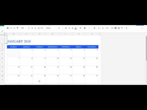 How to insert Calender in Google Spread Sheets
