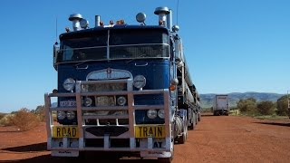Huge Roadtrains of the North West !
