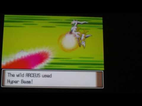 Pokemon Platinum Arceus Event (Azure Flute)