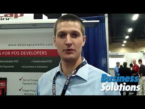 Datacap Systems Shows Payment Interface For Tablet POS At RetailNOW 2013
