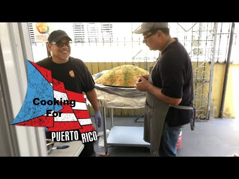 Cooking For Puerto Rico with World Central Kitchen April 27, 2018