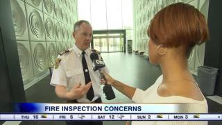Video: Questions swirling about fire safety inspection protocols