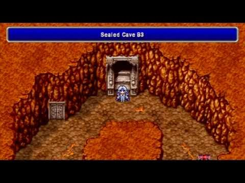 Let's Play! Final Fantasy IV [PSP] #30 The Sealed Cave