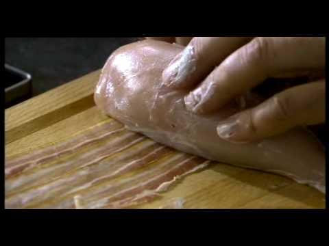Aldo Zilli cooks cheese and basil stuffed chicken