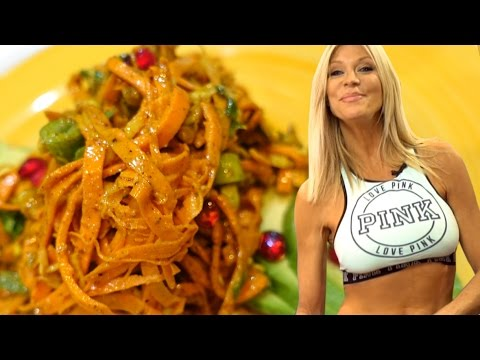 Sweet Potato Pasta Recipe | Gluten Free Pasta | Raw Vegan