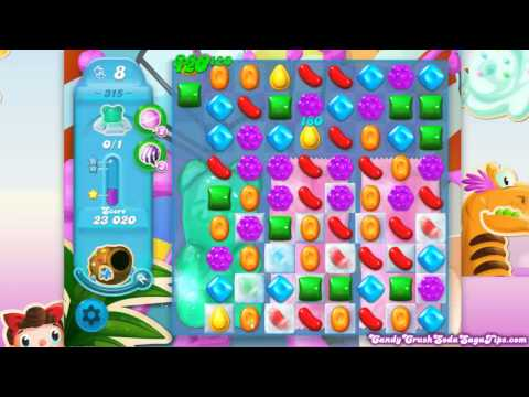 Candy Crush Soda Saga Level 315 No Boosters