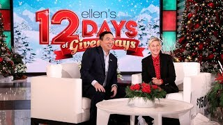 Presidential Candidate Andrew Yang Drops-In to Explain Himself to Ellen