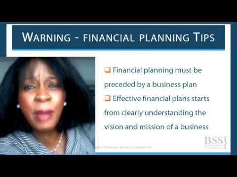How To Write Financial Plan For Funding - Business Plan Course