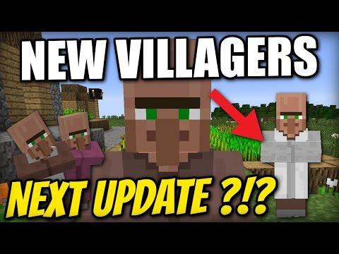 Minecraft PS4 - NEW VILLAGERS - NEXT UPDATE ? Tutorial - Xbox / PS3 / Wii U
