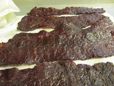 Smoked Beef Jerky, How to make it
