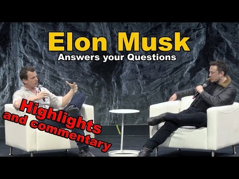 Elon Musk interview SXSW HIGHLIGHTS and my comments 2018