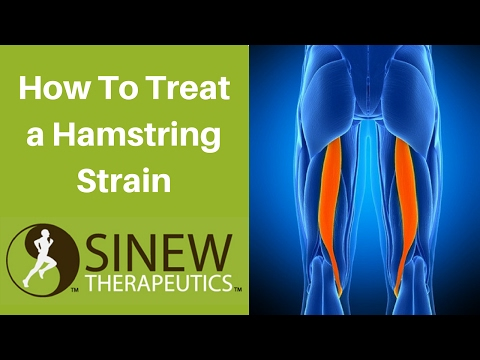 How To Treat a Hamstring Strain and Speed Recovery