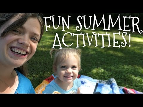Free and Fun Summer Activities || Toddler Edition || Collab
