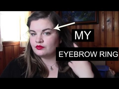 All about my eyebrow ring
