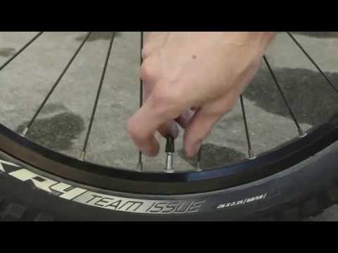 How to Pump up/inflate bike tires with a Presta Valve