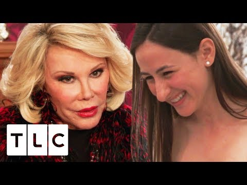 Joan Rivers Helps A Family Friend Pick Her Wedding Dress | Say Yes To The Dress US