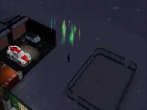 Alien Abduction- The Sims 3