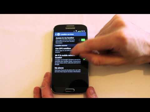 Galaxy S4 settings options and customization guide
