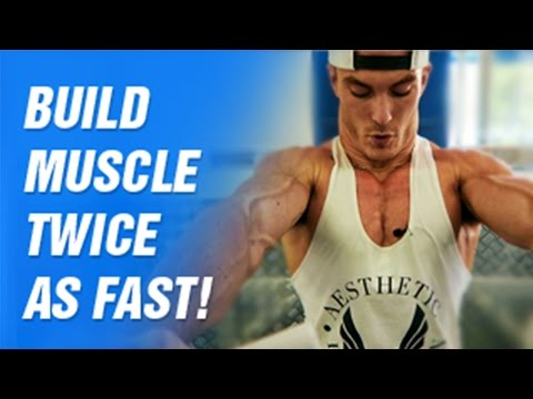 The Fastest Way to Put On Muscle! (Bodybuilder Secret!)