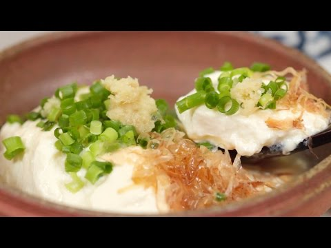 How to Make Extra-Smooth Silken Tofu 滑らか豆腐 作り方 レシピ
