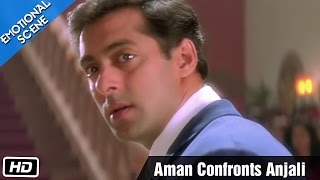 Download Aman Confronts Anjali - Emotional Scene - Kuch Kuch Hota Hai - Salman Khan, Kajol, Shahrukh Khan Video