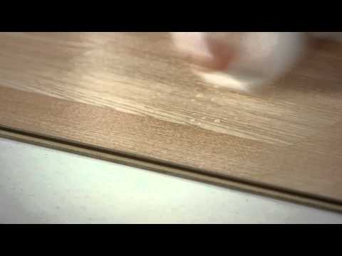 How to Remove White Film on Laminate Flooring : Working on Flooring