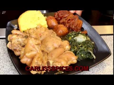 How - To - Make - Pig Feet & Corn Bread (Saturday Meal) (Legacy)