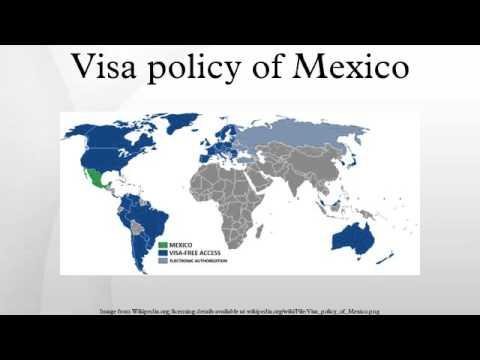 Visa policy of Mexico