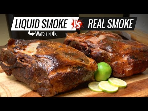 Best way to Cook PULLED PORK Sous Vide - Liquid Smoke VS Real Smoke Pulled Pork