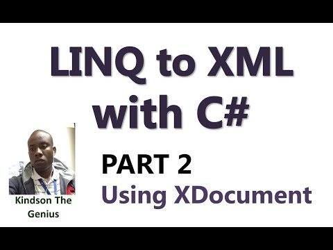 Learn Linq to XML With C# - Part 2:  How to Read XML File Using Linq to XML With XDocument